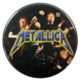 Metallica - 'Black Stage' Button Badge